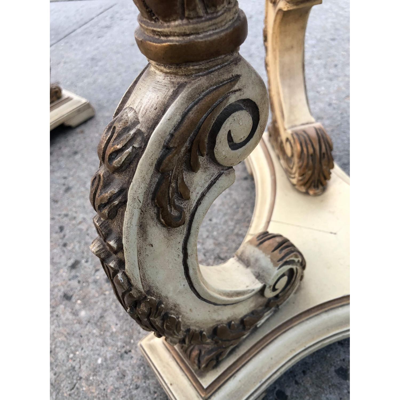 Vintage 1970s Italian Marble Side Table - image-13