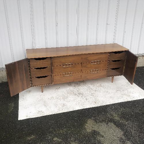 Used Mid-Century Modern Twelve Drawer Dresser for sale on AptDeco