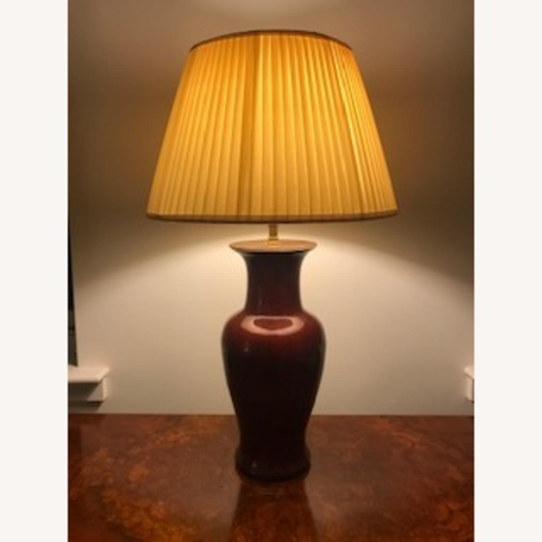 Vaughan Designs Ceramic Vase Table Lamp