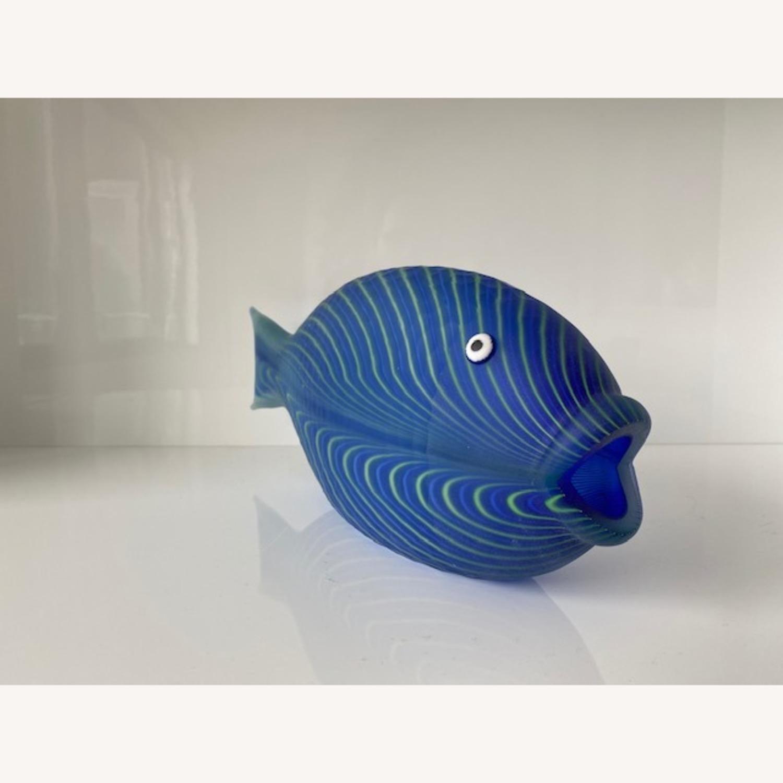 Christian Dior Home Murano Glass Fish Sculpture - image-2