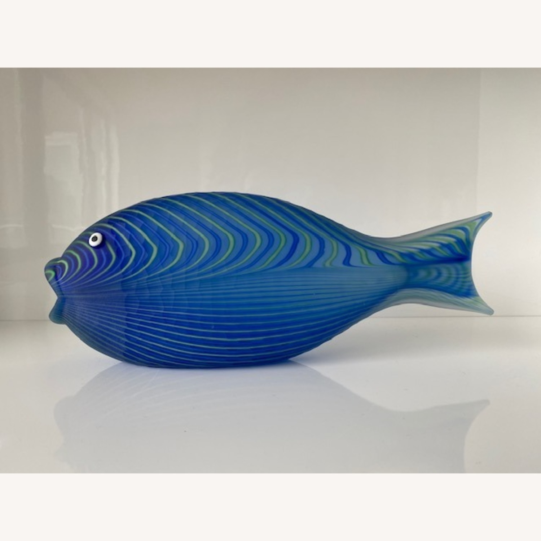 Christian Dior Home Murano Glass Fish Sculpture - image-0