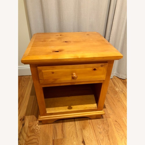 Solid Wood Amish Crafted Nightstands