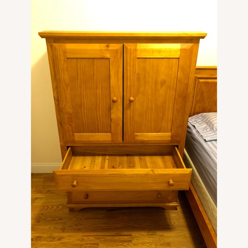 Solid Wood Amish Crafted Armoire