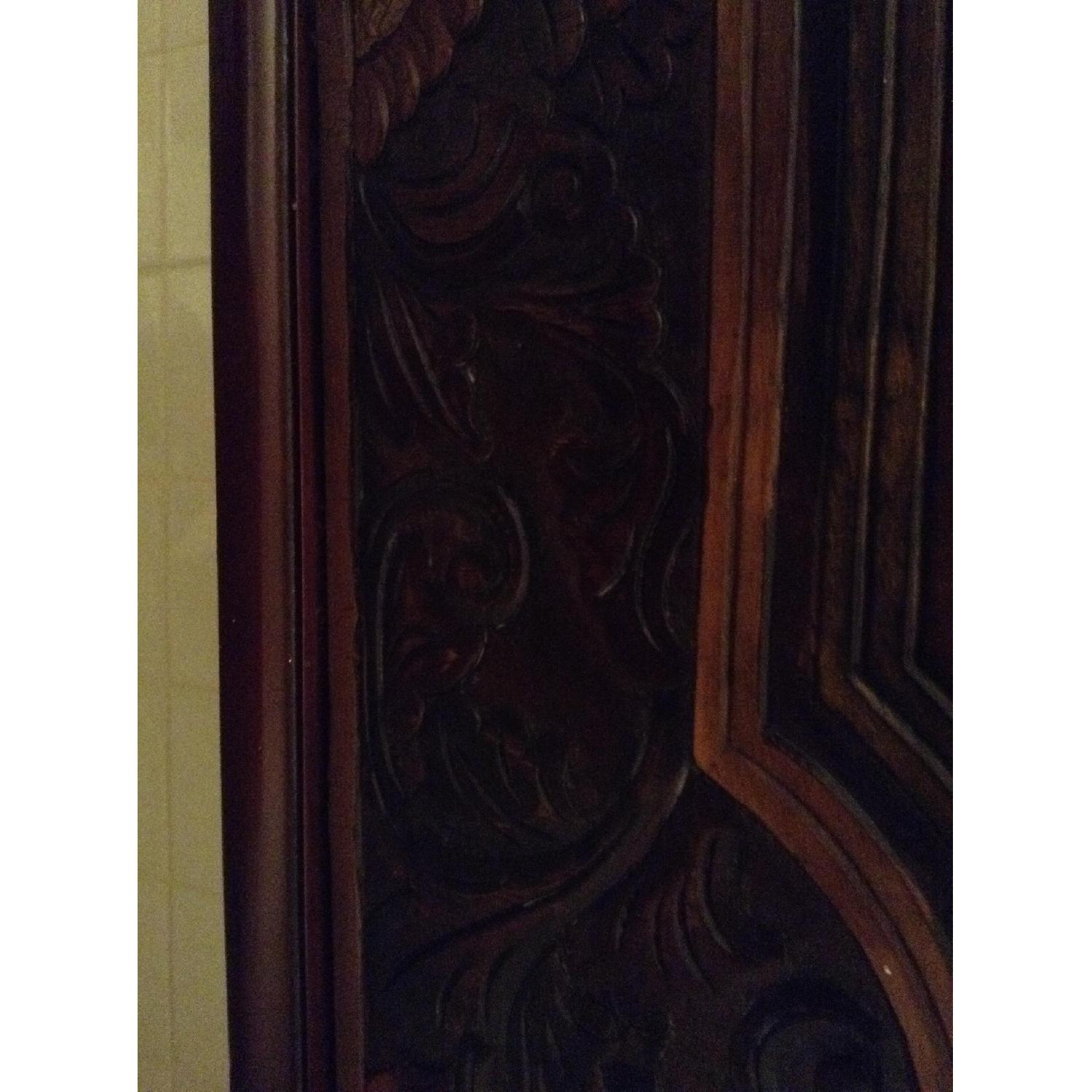 South East Asian Wall Mounted Cabinet - image-8