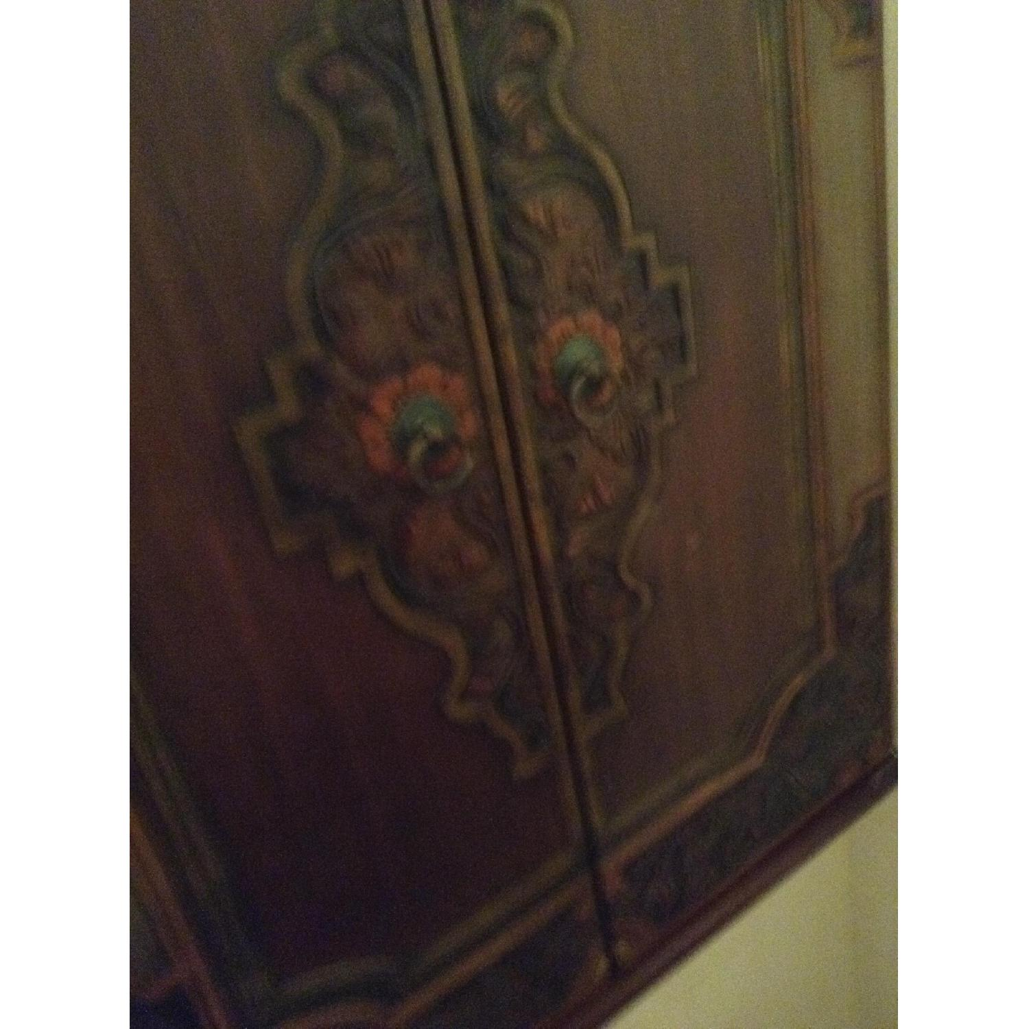 South East Asian Wall Mounted Cabinet - image-13