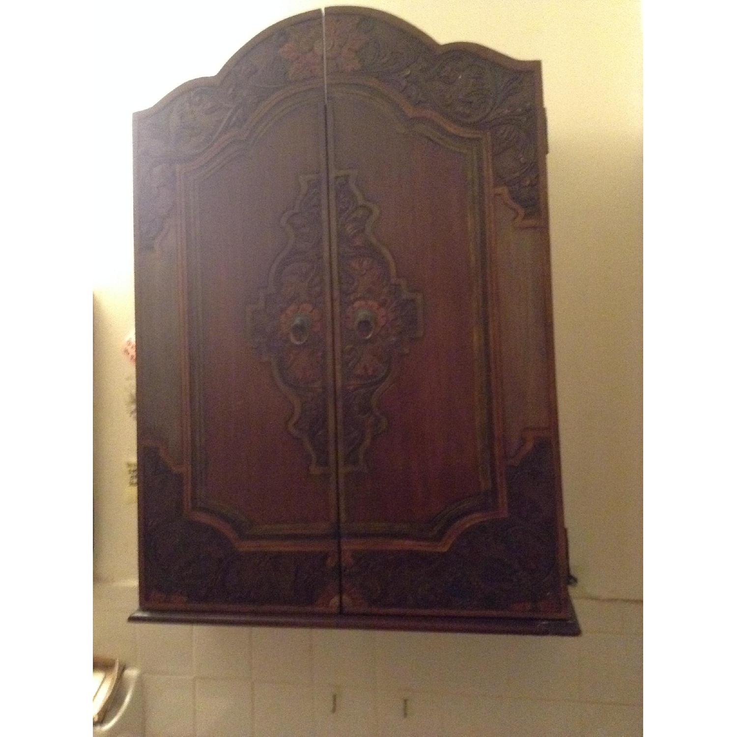 South East Asian Wall Mounted Cabinet - image-16