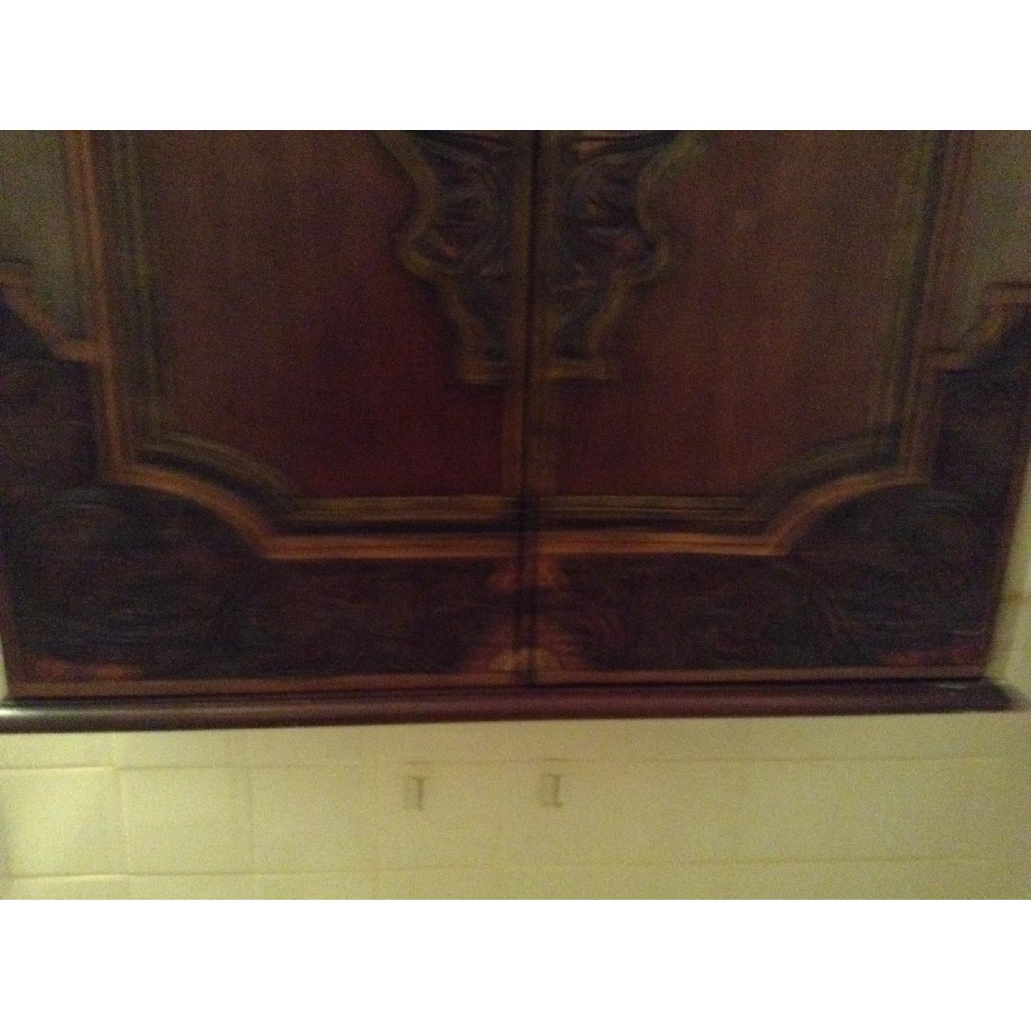 South East Asian Wall Mounted Cabinet - image-22