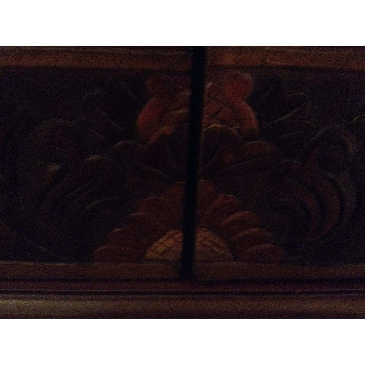 South East Asian Wall Mounted Cabinet - image-23