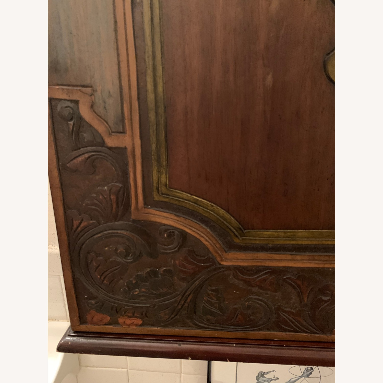 South East Asian Wall Mounted Cabinet - image-27