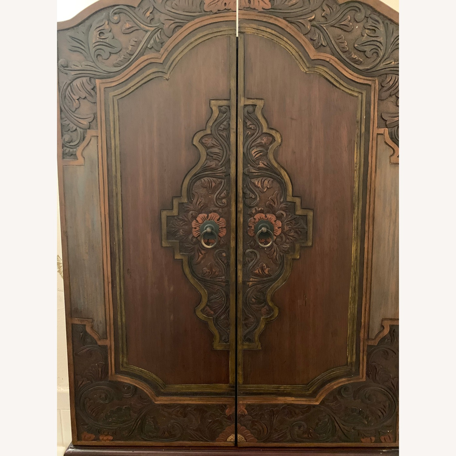 South East Asian Wall Mounted Cabinet - image-31