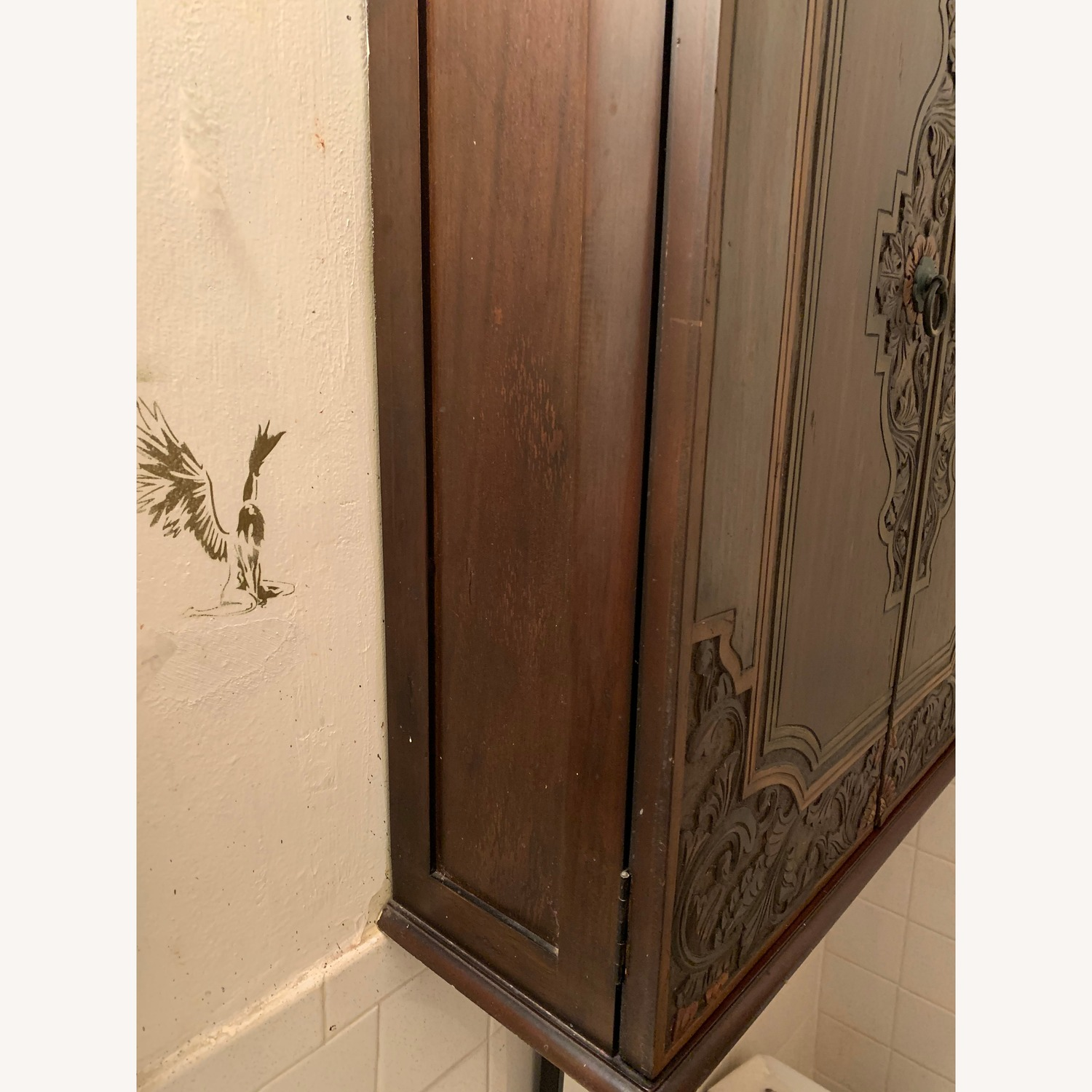 South East Asian Wall Mounted Cabinet - image-30