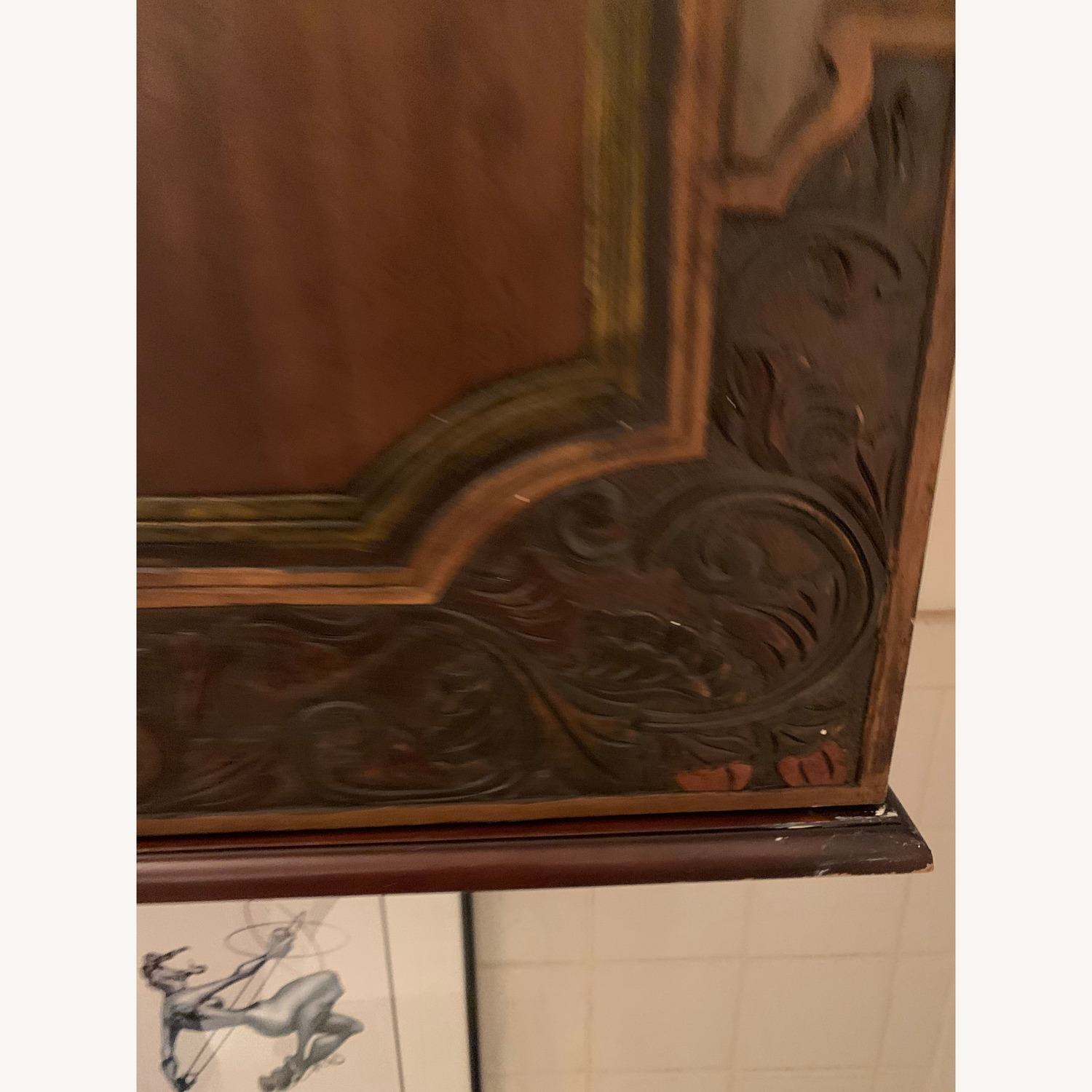 South East Asian Wall Mounted Cabinet - image-28