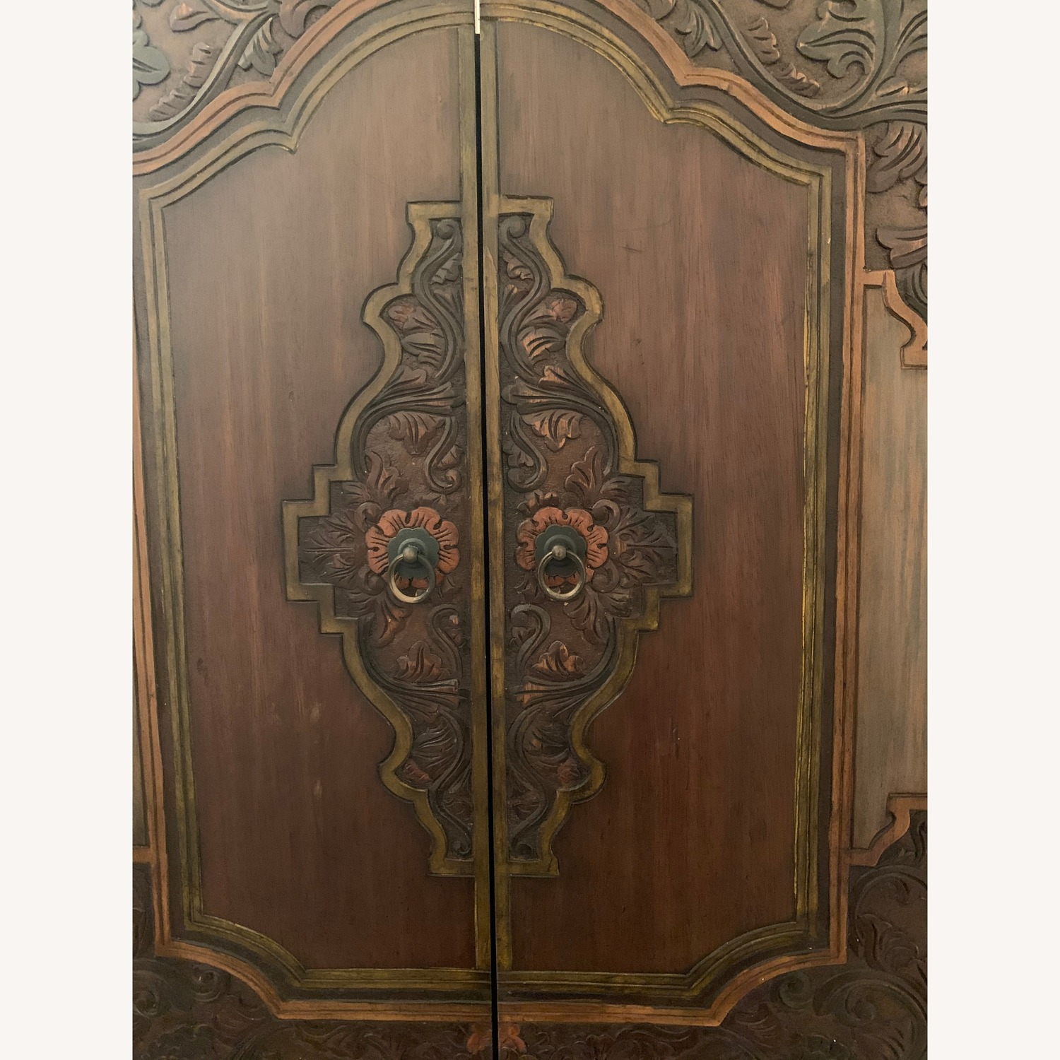 South East Asian Wall Mounted Cabinet - image-26