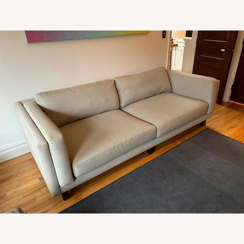 Room & Board Light Grey Sofa