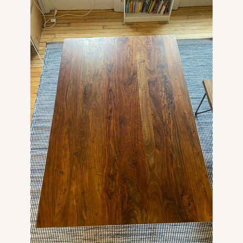 CB2 Dylan Dining Table w/ 1 Bench