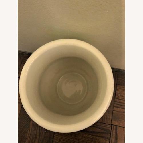 J.M. & Co. Antique Ironstone China Chamber Pot