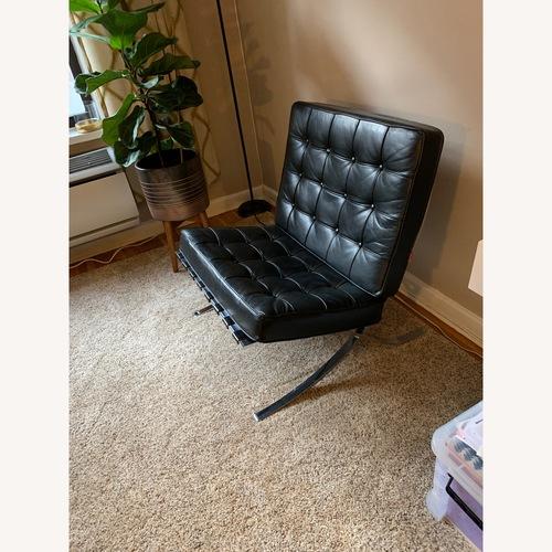 Artisan Black Leather Chair