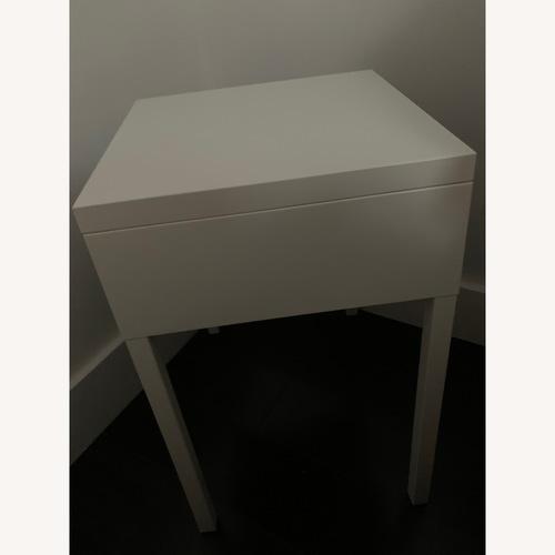 IKEA White Selji NIghtstand