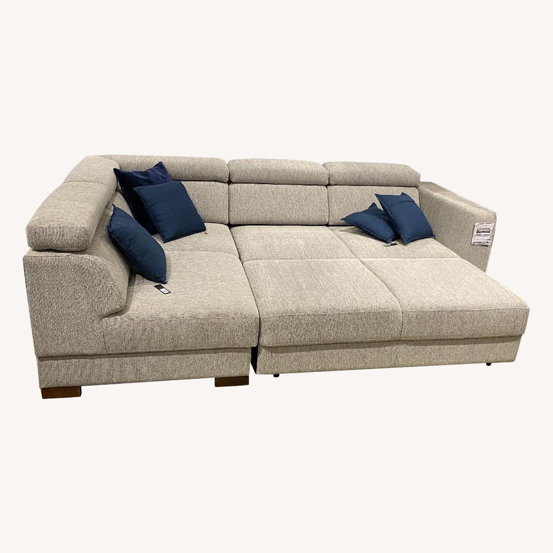 Luonto Halti Sleeper Sectional Sofa w/ Storage Chaise
