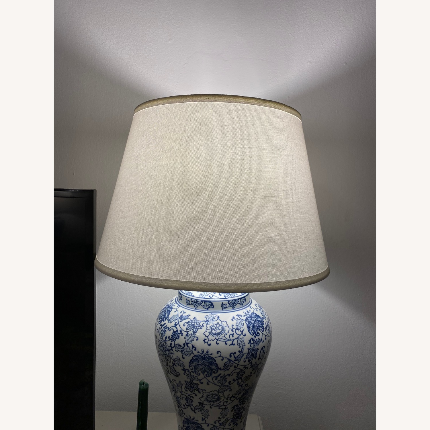 Safavieh Blossom Blue Table Lamps