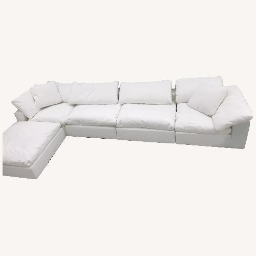 Used Moe's Home 5-Piece Cloud Sectional Sofa for sale on AptDeco