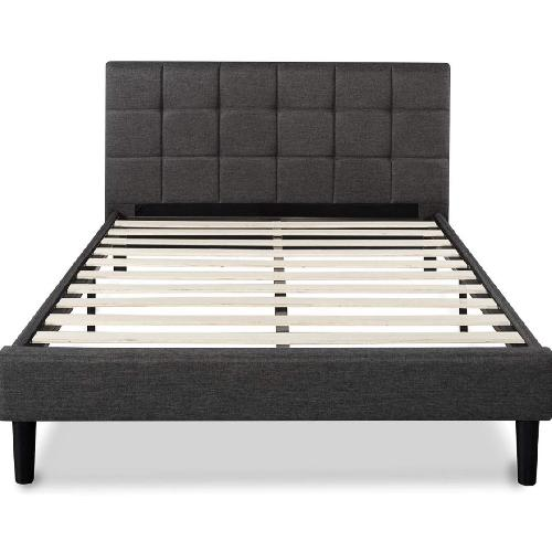 Used Queen Upholstered Platform Bed for sale on AptDeco