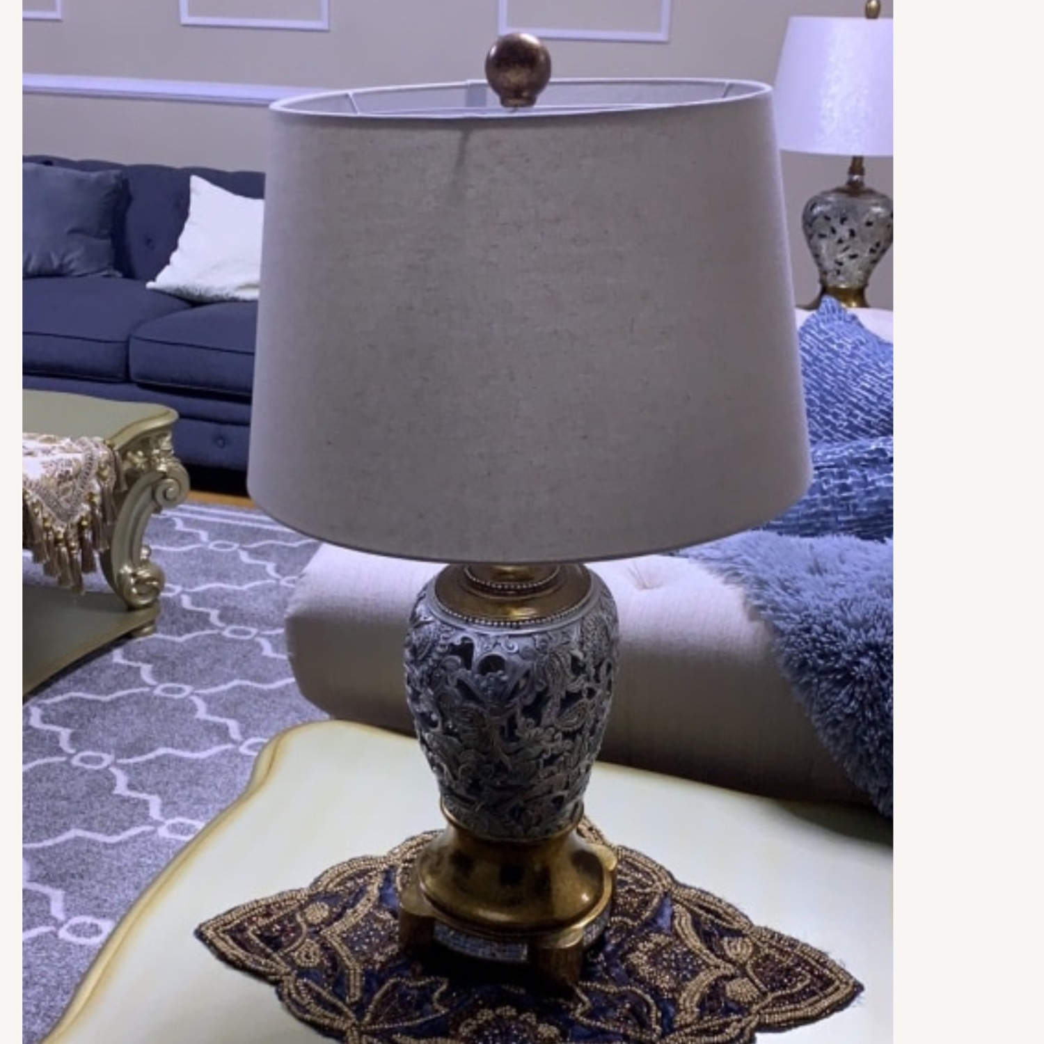Table Lamps in Gold & Silver