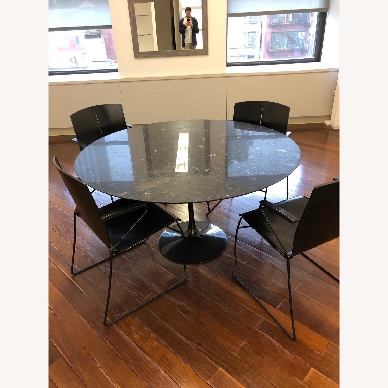1980 Vintage Eero Saarinen Italian Marble Table