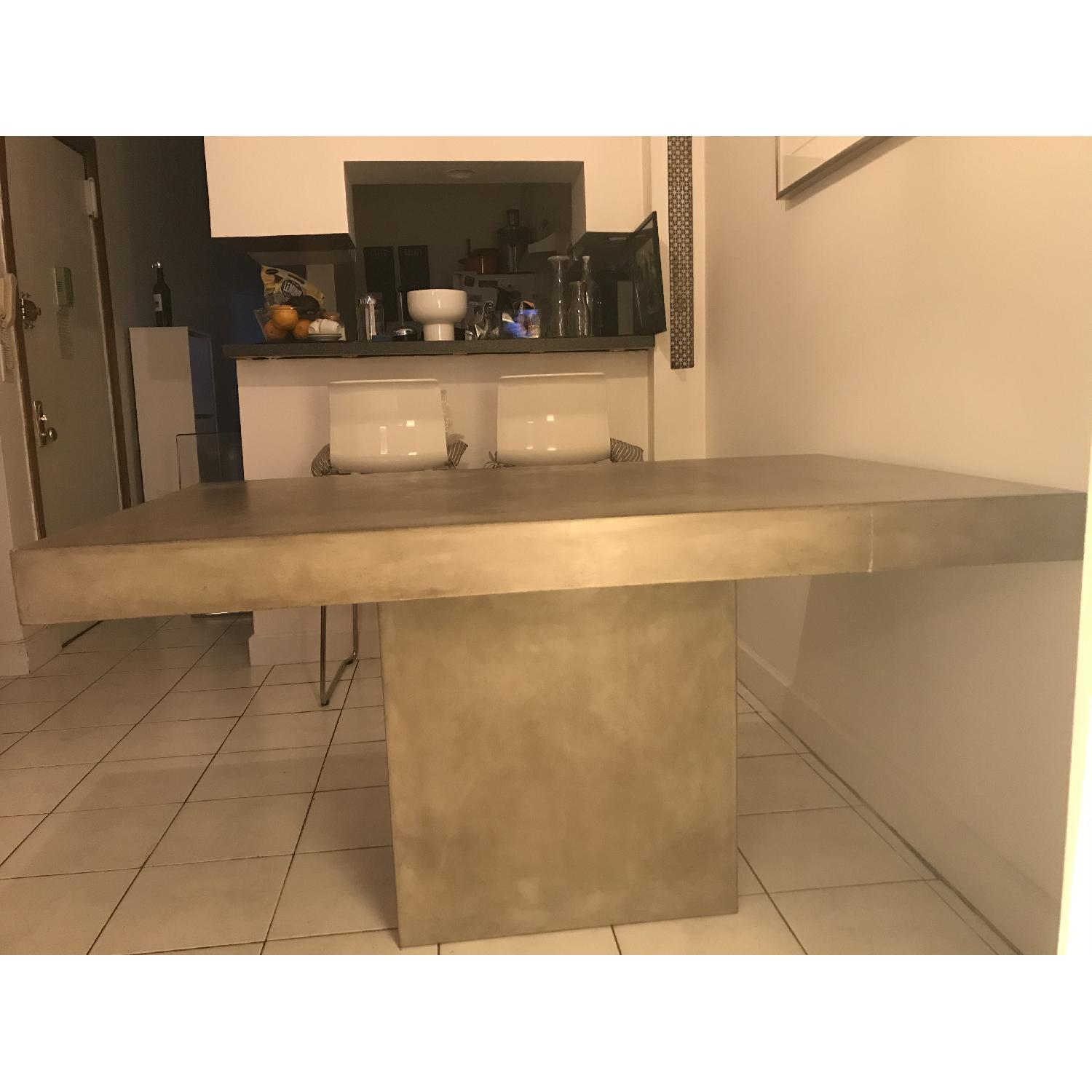 CB2 Stone Grey Kitchen/Dining Table