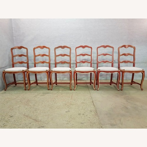 Used Moustache Early 1940s French Country Oak Chairs for sale on AptDeco