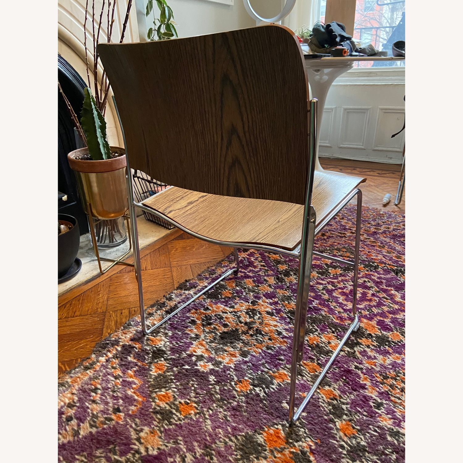 Vintage David Rowland Stacking Chair