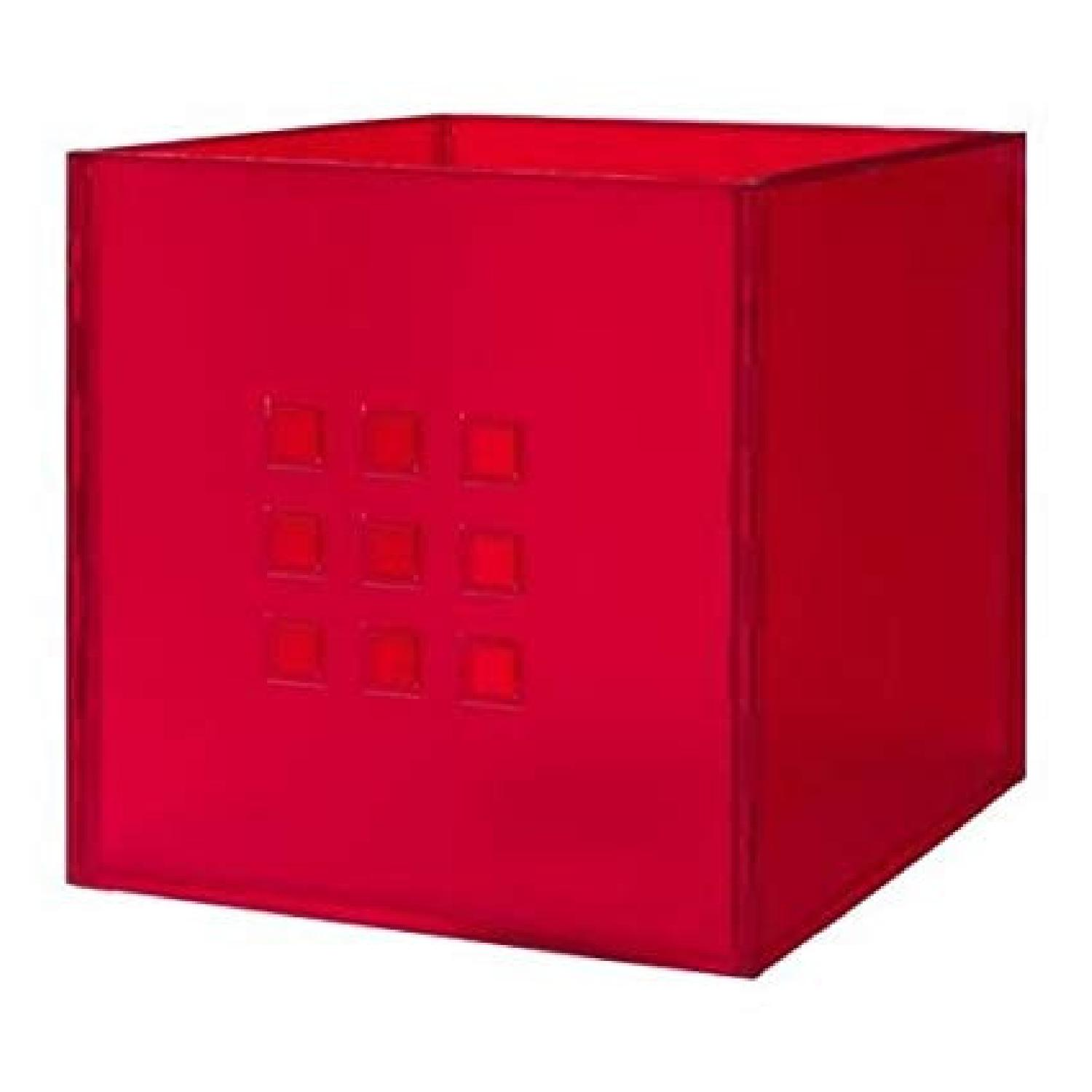 Ikea Lekman Boxes in Red - image-0