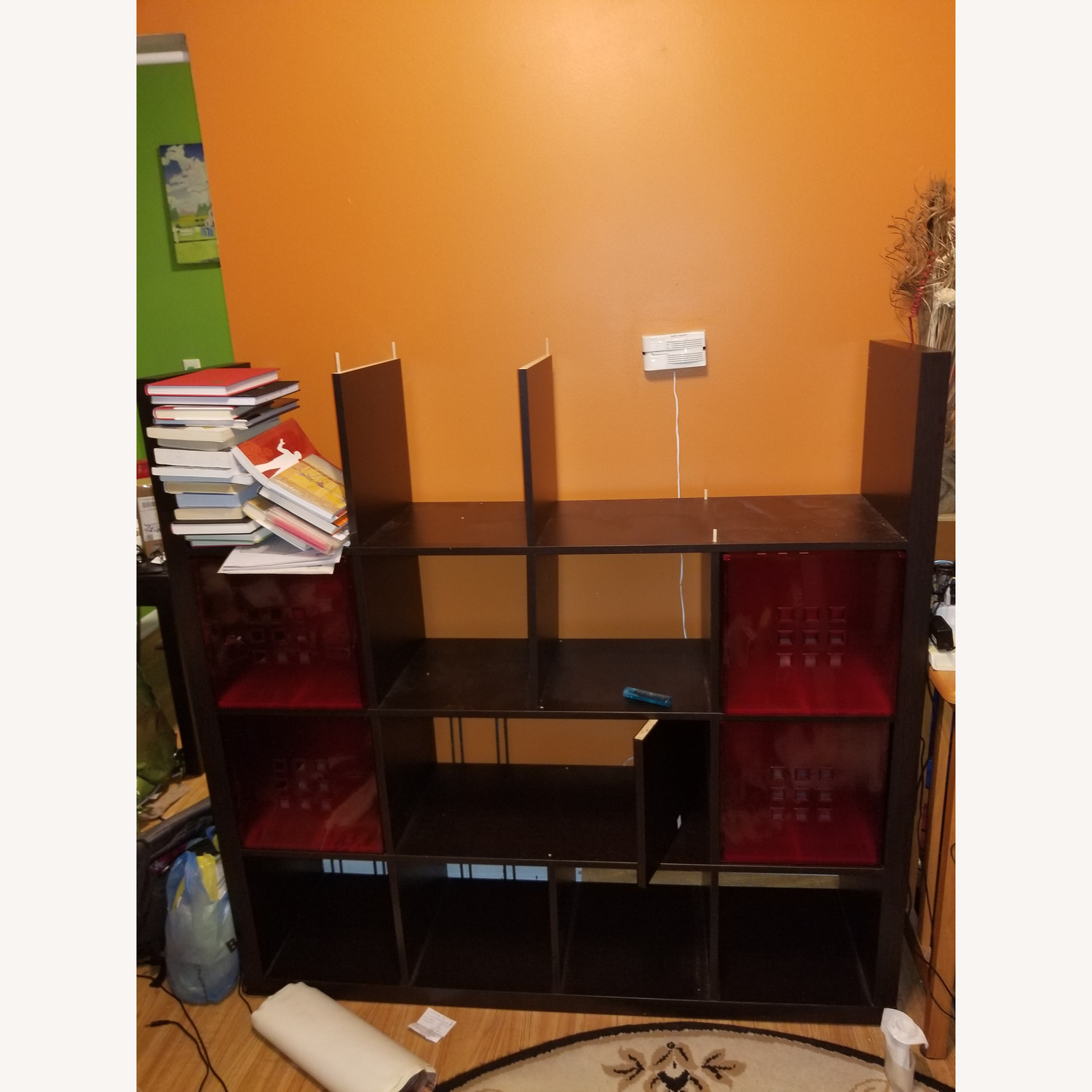 Ikea Lekman Boxes in Red - image-3