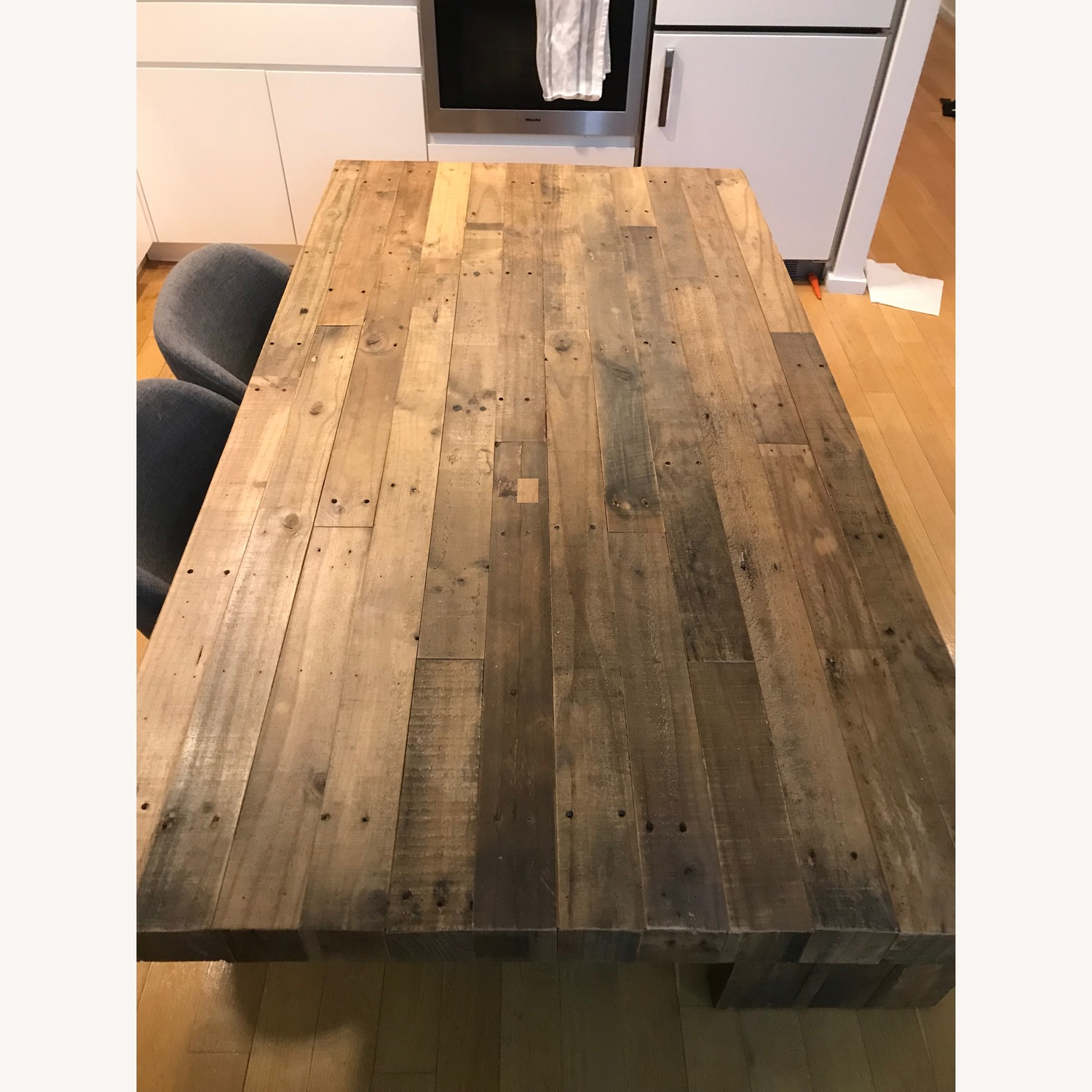 West Elm Reclaimed Pine Emmerson 72 Table and 58 Bench - image-2