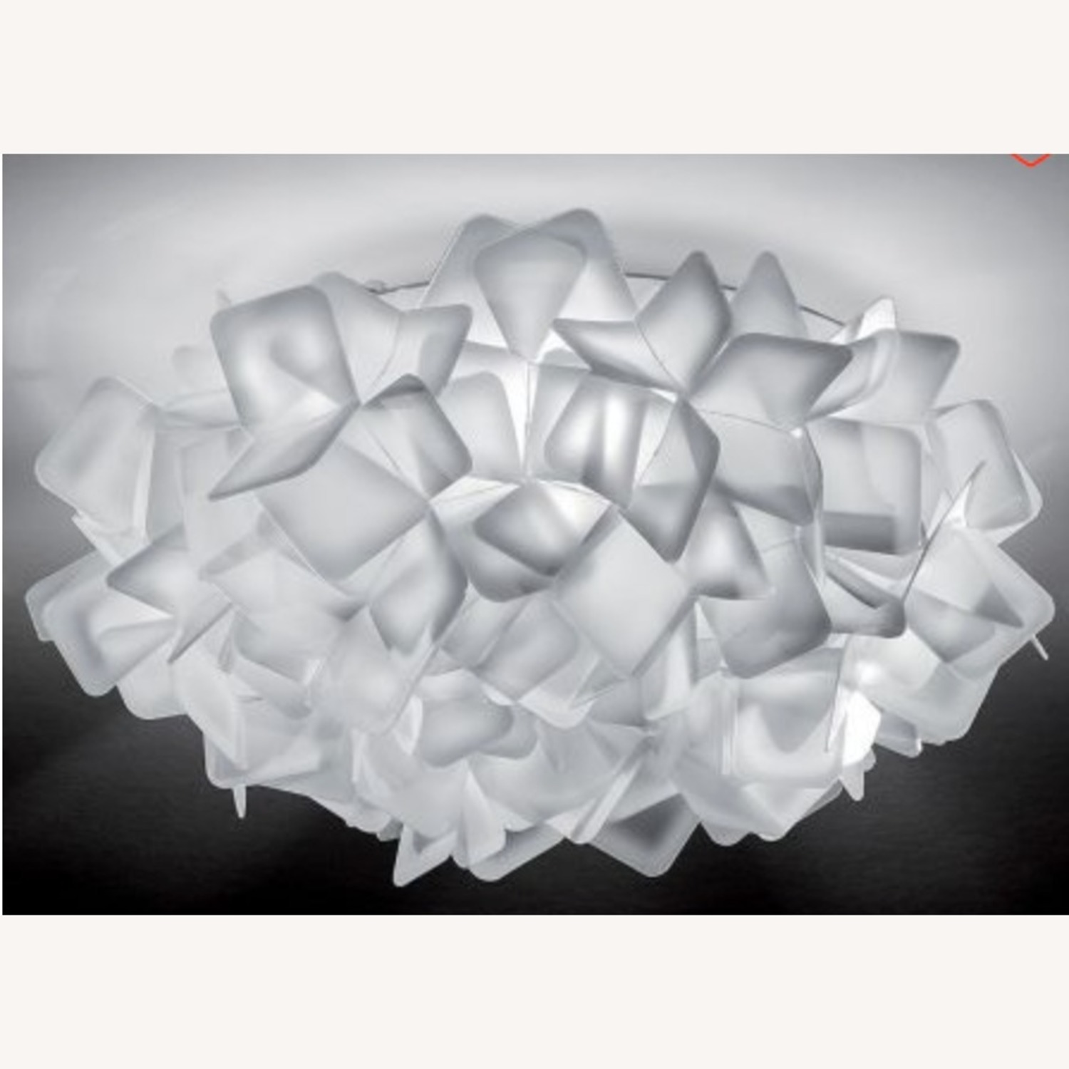 Slamp Clizia Ceiling/Wall Light in Small White/Clear - image-3