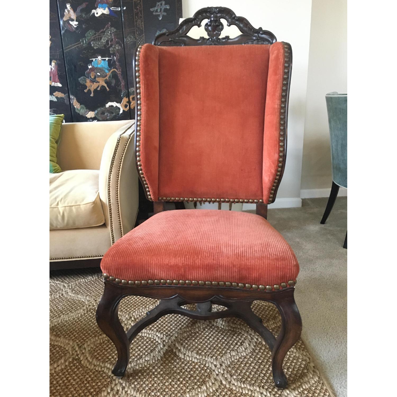 Yale Burge Antiques c. 1970 Accent Chair