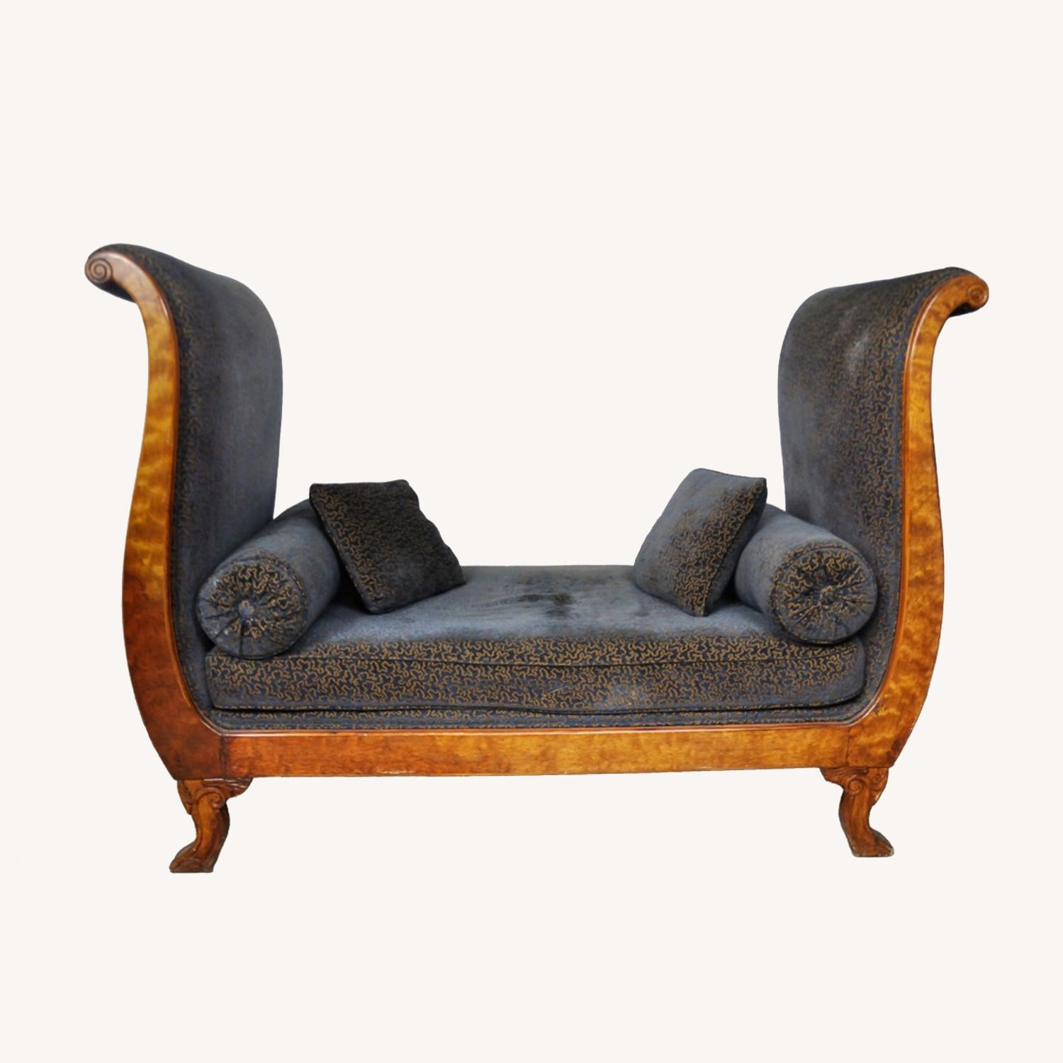 Vintage Victorian Style Sofa - image-0