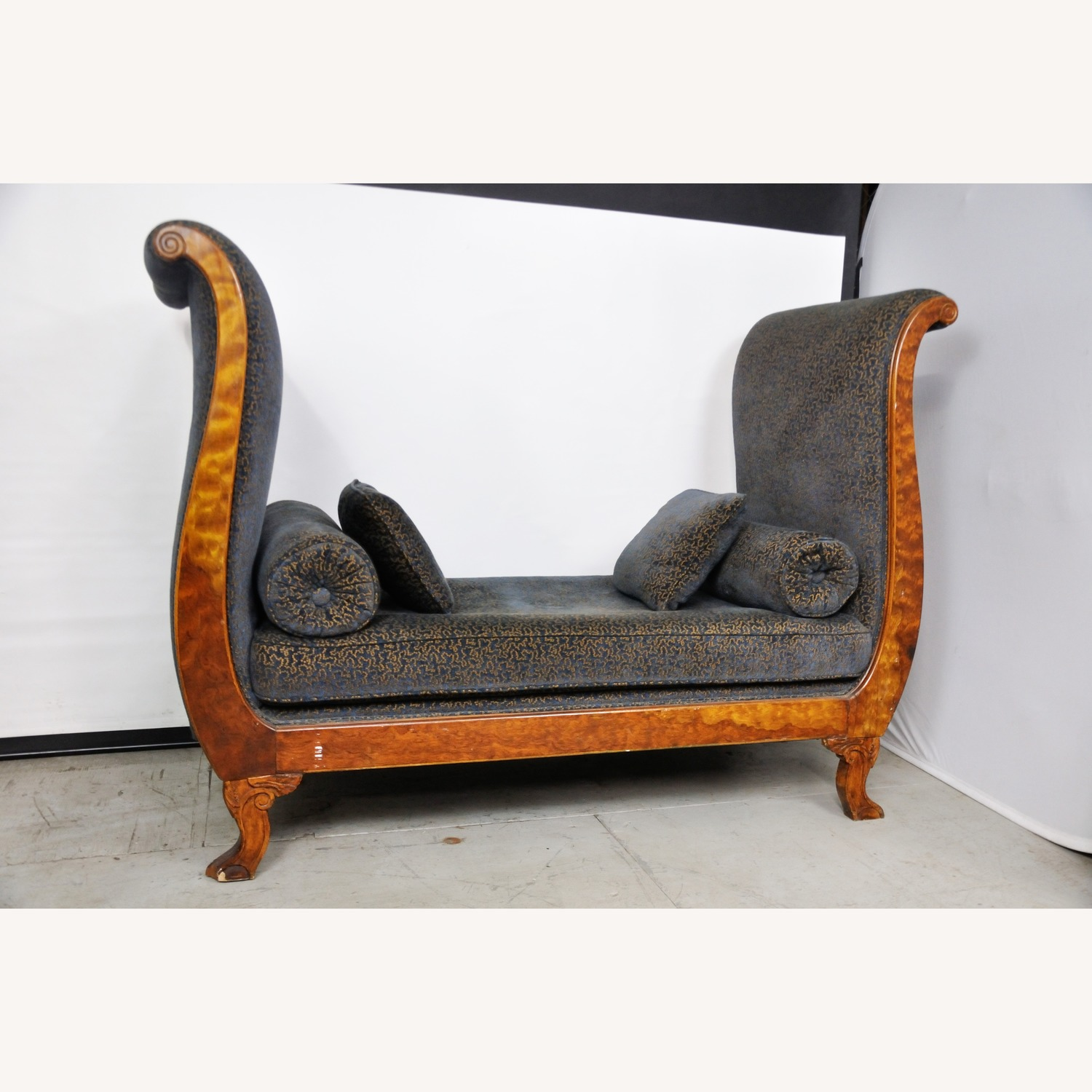 Vintage Victorian Style Sofa - image-9