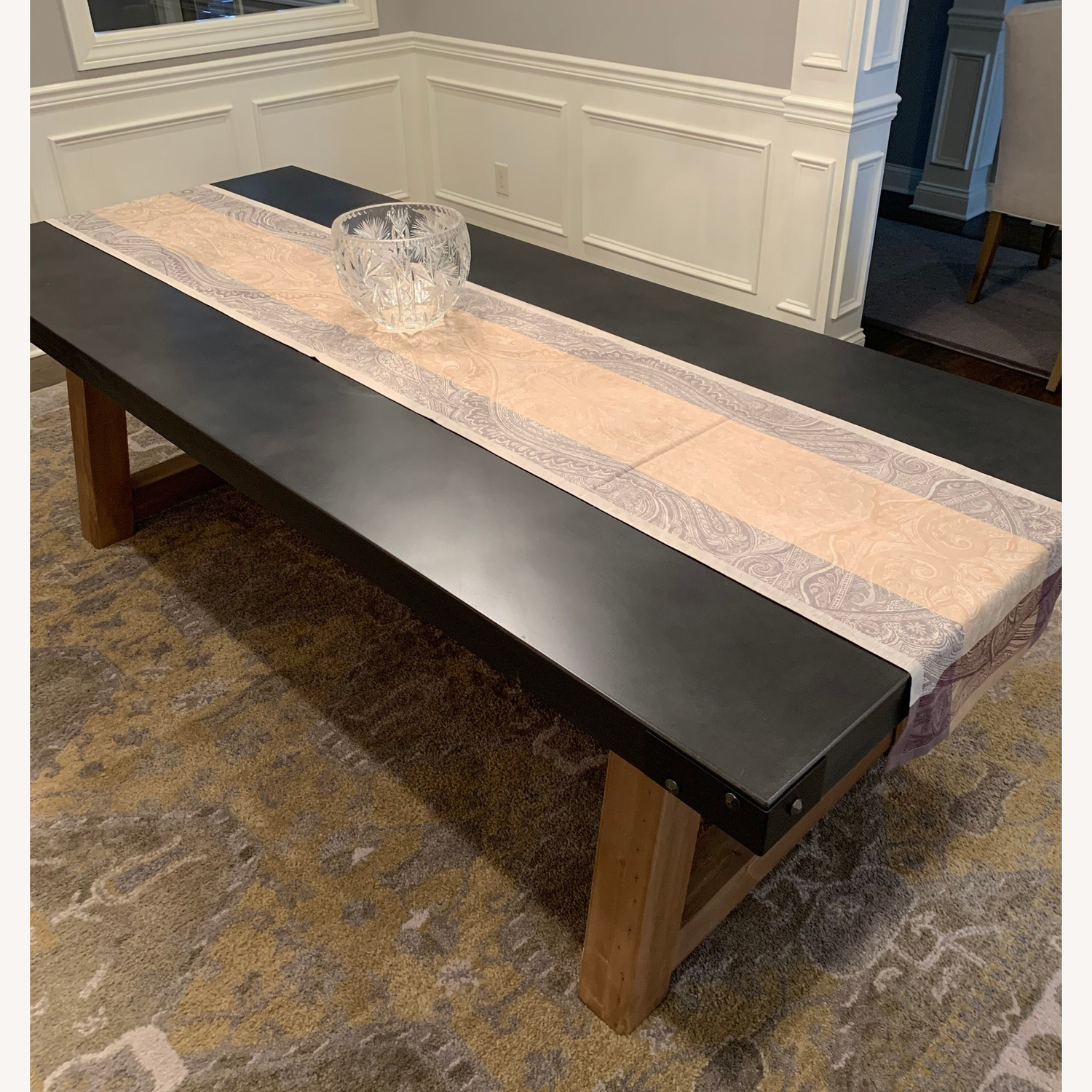 Restoration Hardware Salvaged Wood and Concrete Table - image-2
