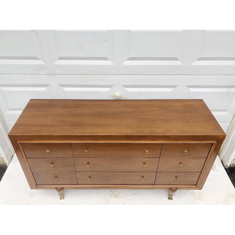 Kent Coffey Mid-Century Modern Dresser w/ Mirror - image-9