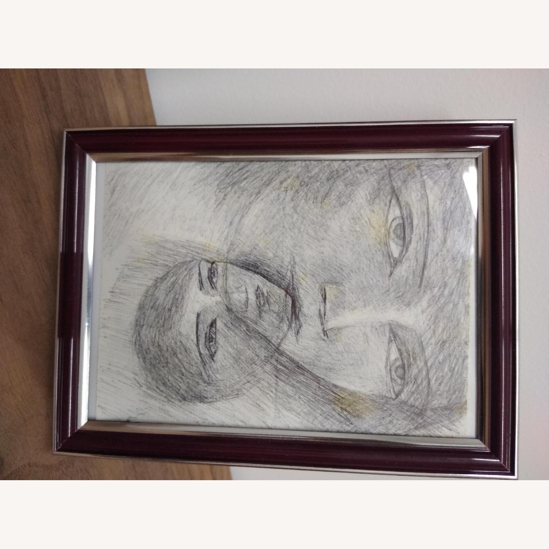 Pen drawing original faces - image-3