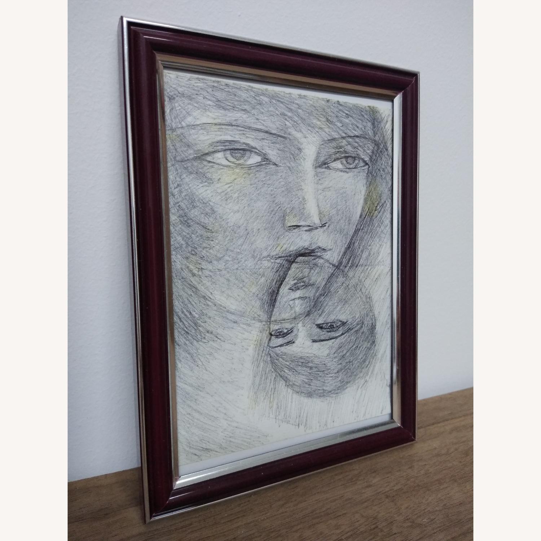 Pen drawing original faces - image-0
