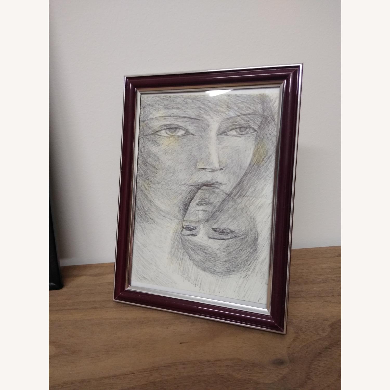 Pen drawing original faces - image-2