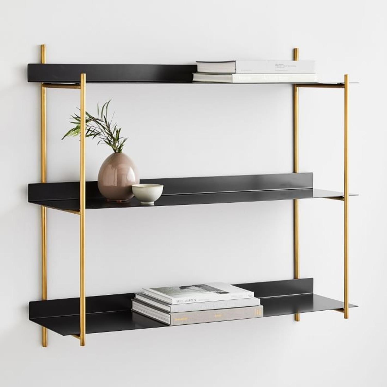 West Elm Paloma Metal Shelf - image-1