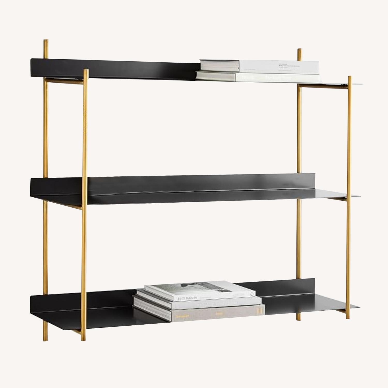 West Elm Paloma Metal Shelf - image-0