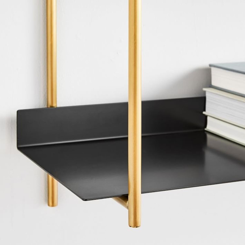 West Elm Paloma Metal Shelf - image-3