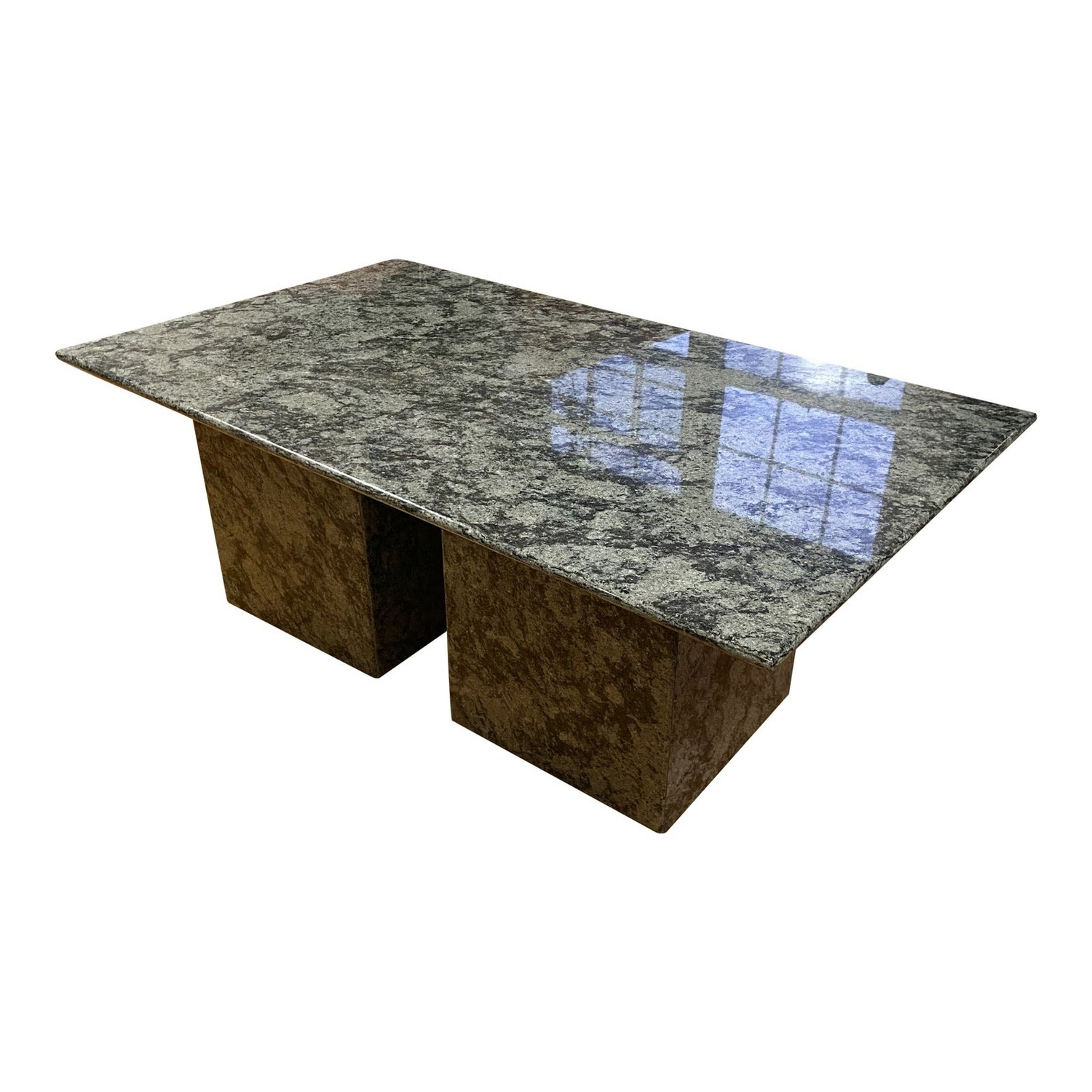 Antique Solid Granite Coffee Table