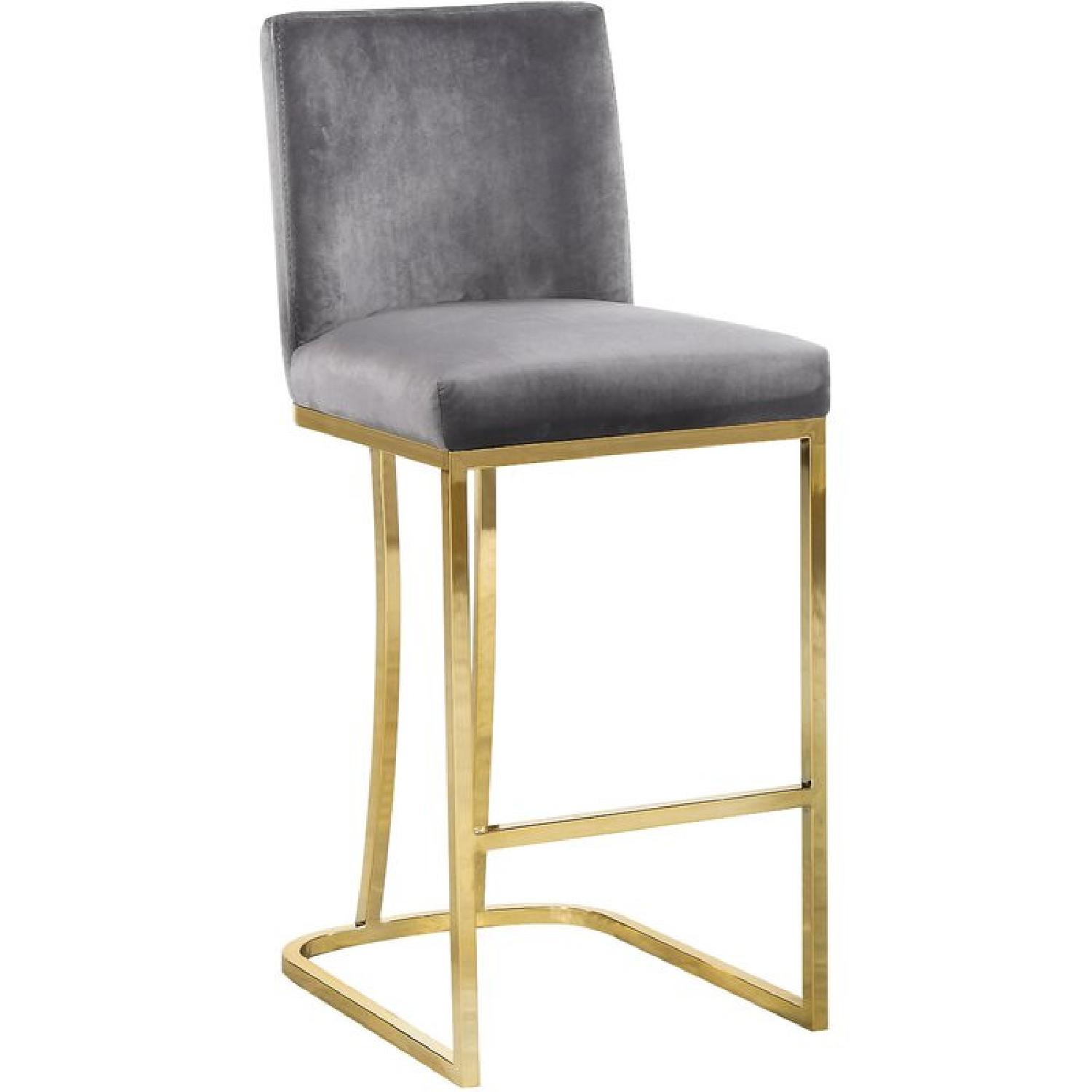 Foundstone Silver Noah Seppich Counter Stool - image-0