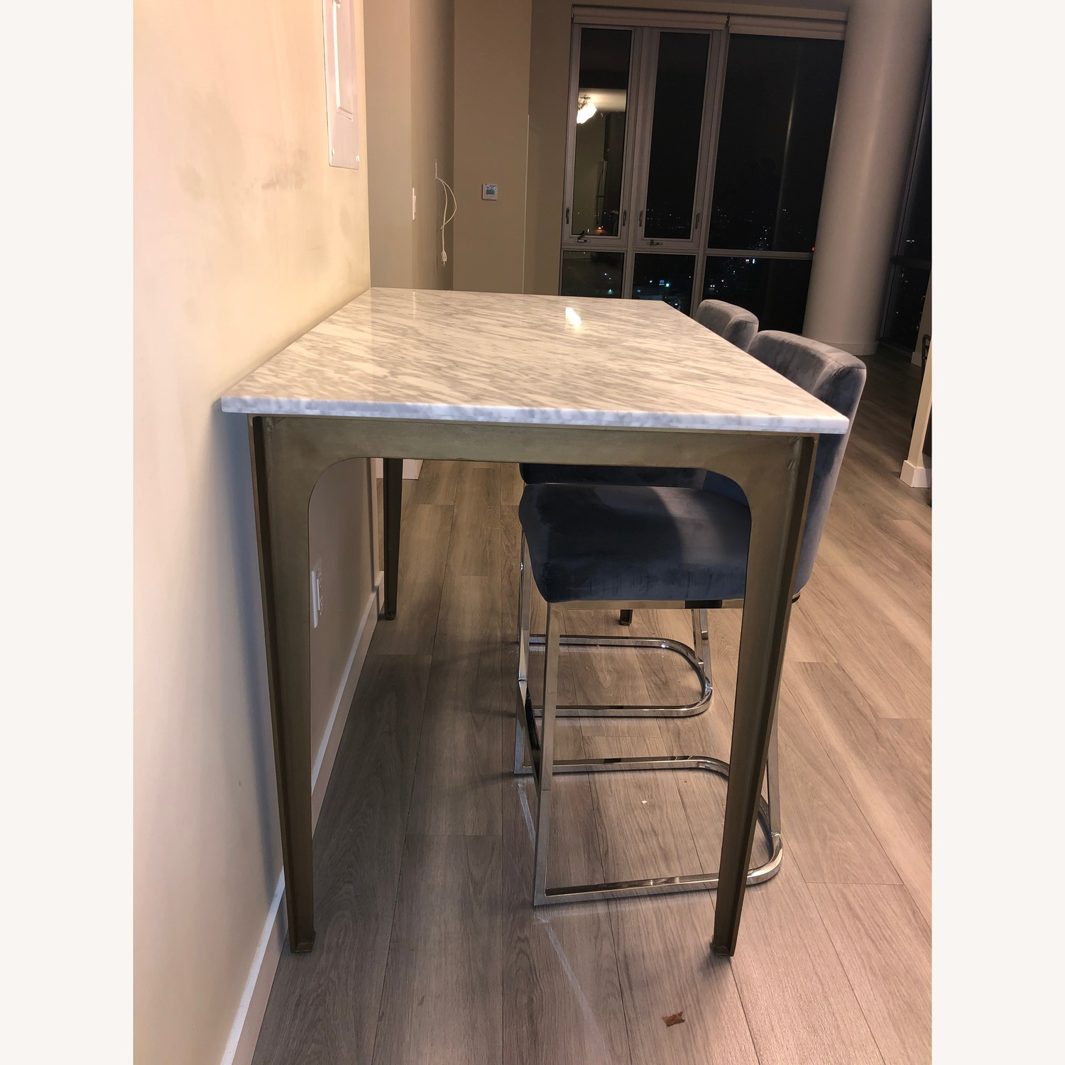 Foundstone Silver Noah Seppich Counter Stool - image-3