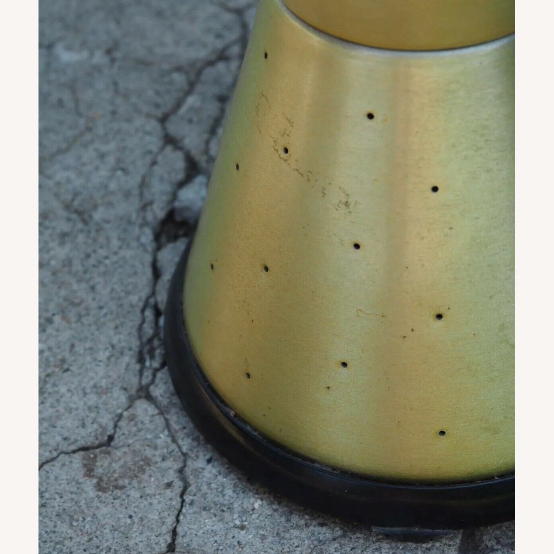 Vintage 1970's Lava Lamp Light w/ Gold Starlite Base